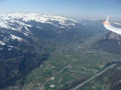 Bad Ragaz (Roland Henz) Tags: fliegen segelfliegen segelflug dassu unterwössen 2019 20042019 badragaz flugplatz luftbild luftaufnahme