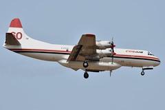 C-FYYJ (LAXSPOTTER97) Tags: cfyyj lockheed electra l188 cf cn 1143 conair aviation airport airplane cyxx
