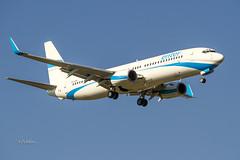 IMG_6161@L6 (Logan-26) Tags: boeing 7378q8 spesa msn 30680 enter air riga international rix evra latvia aleksandrs čubikins blue sky fly flying