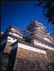 姬路城-4 (retrue) Tags: 日本 兵庫県 姫路市 姫路城 fuji ga645w fujifilm fujichrome velvia 100