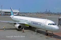 A321 HL7761 AIR BUSAN (shanairpic) Tags: jetairliner passengerjet taiwan kaohsiung a321 airbusa321 airbusan hl7761