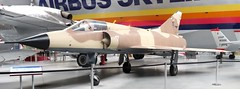 67 Dassault Mirage IIIC Djibouti scheme (kitmasterbloke) Tags: aeroscopia toulouse museum aviation aircraft heritage preserved displayed indoor france