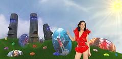 Frohe Ostern für euch alle.! (Fatal Nitro) Tags: jasminwagner blümchen happyeaster osterinsel ostergrüsse greetingcard 2019 wallpaper funny desktop fanmade gruskarte