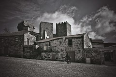 Montalegre - Terras do Barroso (Acyro) Tags: acyro portugal trásosmontes barroso vilas village city bw pb streetshot street