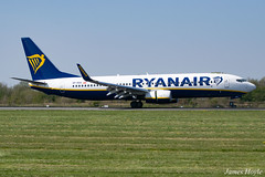 Ryanair Sun SP-RSO B737-800 at Manchester Airport 19-04-19 (JH Aviation and Railway Photography) Tags: manchester manchesterairport airliner airport aircraft aviation airways airlines aviationviewingpark avp southside egcc jetliner jet jets