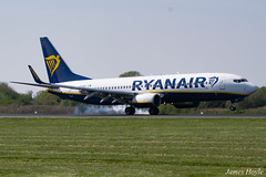 Ryanair EI-DCK B737-800 at Manchester Airport 19-04-19 (JH Aviation and Railway Photography) Tags: manchester manchesterairport airliner airport aircraft aviation airways airlines aviationviewingpark avp southside egcc jetliner jet jets