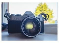 The 50mm 1.4  #canon #canonae-1 #ae-1 #lens (tsummers471) Tags: canon canonae ae lens