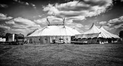 The Big Top (bensonfive) Tags: bigtop circus tent blackwhitephotography monochrome mitcham surrey zippos