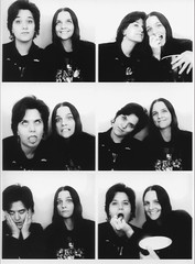 Photobooth. April, 2019. (Kate Farquharson) Tags: photobooth portrait instantphotography blackandwhite