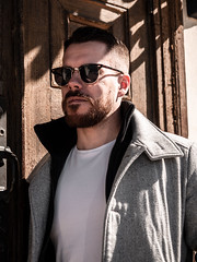 Herman_20190421_2092 (roni.laakso94) Tags: herman turku outdoor finland city sights nature moody yellow orange sunny spring photoshooting model man sunnies sunglasses photography varsinaissuomi forest