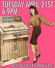 Dub Dinner (BOPST) Tags: bopst design graphicdesign photoshop poster gigposter dub reggae jukebox rva 2015