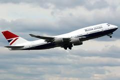 British Airways | Boeing 747-400 | G-CIVB | Negus retro livery | London Heathrow (Dennis HKG) Tags: aircraft airplane airport plane planespotting oneworld canon 7d 100400 london heathrow egll lhr britishairways ba baw speedbird boeing 747 747400 boeing747 boeing747400 gcivb