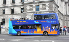 BD16YEL / 132 Volvo B9TL / MCV EvoSeti of Golden Tours (Ian Press Photography) Tags: bus buses double decker doubledecker transport open top london bd16yel 132 volvo b9tl golden tours mcv evoseti