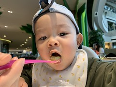 (keso) Tags: little9 xiaojiu eat lime indigo