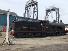 131 about to run round the train at Whitehead (robinparkes) Tags: thinkingabouttrains translink northernirelandrailways