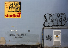 Studio7 (Asbjørn Anders1) Tags: seven flickrfriday streetphotography wall studio7 poster grafitti