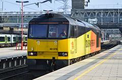 60076 'Dunbar', Stafford (JH Stokes) Tags: 60076 stafford colasrailfreight class60 westcoastmainline diesellocomotives lightengine trains trainspotting tracks transport railways photography railroads