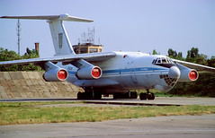 76698 - Melitopol Air Base (OOK) 27.05.2002 (Jakob_DK) Tags: il76 il76md ilyushin ilyushinil76 il76candid ilyushin76 ilyushin76md ilyushinil76md cargo ukdm oox melitopol melitopolairbase 2002 76698 ukrainianairforce