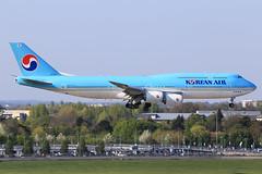 Korean Air  Boeing 747-8B5 HL7637 (widebodies) Tags: london heathrow lhr egll widebody widebodies plane aircraft flughafen airport flugzeug flugzeugbilder korean air boeing 7478b5 hl7637