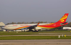 Hainan Airlines A330-343 B-304L. (Cameron Gaines) Tags: n 1893 first flew toulouseblagnac 27th august 2018 fwwco before being placed storage b005d the aircraft was eventually delivered hainan airlines b304l 28th december current april 2019 man egcc manchester airport airfield airbus