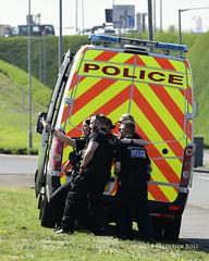 Police selfie (© Freddie) Tags: londonheathrow poyle heathrow lhr egll 09l arrivals police selfie fjroll ©freddie
