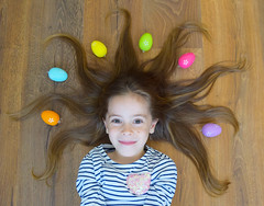 Preparing for Easter (Gabriel Kay) Tags: little lovely easter bunny beautiful hair color egg face smile niece kid child portrait fun prepare celebrate tiny human girl person people children adorable cute young littlegirl ilovekids ilovechildren