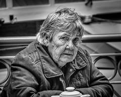Cafe portrait,Durham, North East England. (James-Burke) Tags: woman portrait northumberland lady candid durham cafe