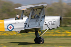 K4259/G-ANMO DH-82A Tiger Moth II (amisbk196) Tags: airfield aircraft headcorn amis flickr 2019 unitedkingdom kent uk lashenden k4259 ganmo dh82a tigermoth ii
