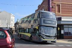 BT 445 @ North Pier, Blackpool (ianjpoole) Tags: blackpool transport alexander dennis enviro 400 city sn67wzk 445 working route 11 market street lytham square