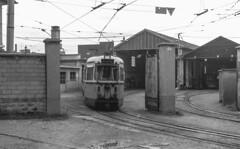 ATM 551 Tram Milano-Vimercate - Vimercate 15/11/1980. Foto Roberto Trionfini (stefano.trionfini) Tags: tram milano vimercate atm lombardia italia