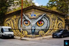 "Knowledge speaks, wisdom listens (Ibrahim D Photography) Tags: owlofathens owl athens greece streetart mural knowledgespeakswisdomlistens wd wilddrawing athensstreetart streetartathens urbanathens athens"""