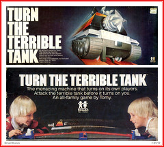 Tomy - Turn the Terrible Tank  01 (StarRunn) Tags: tomy turntheterribletank sf sciencefiction game 1970s toy