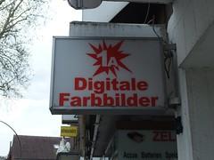 1a Digitale Farbbilder (mkorsakov) Tags: münster handorf laden store schild sign retro vintage typo fotoladen