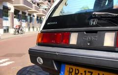 Honda Civic 3D 1.5 GL (Skylark92) Tags: nederland netherlands holland noordholland northholland haarlem harlem honda civic 3d 15 gl rr17nj 1987 onk origineel nederlands kenteken
