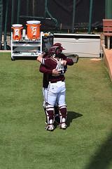 Hugs (ensign_beedrill) Tags: jeffchristy mikeyhoehner texasam texasaggies texasamaggies texasamuniversity baseball collegebaseball southeasternconference secbaseball sec aggiebaseball aggiebaseball2019 amvanderbiltseries olsenfield olsenfieldatbluebellpark