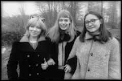 TRIO 1995 (VonMurr) Tags: dominika henrietta magda girl poland 90s maurycygomulicki
