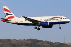 G-EUPE_03 (GH@BHD) Tags: geupe airbus a319 a319100 a319131 ba baw britishairways speedbird unionflag aircraft aviation airliner bhd egac belfastcityairport