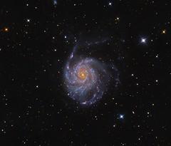 M101 (Rework) (Photonen-Sammler) Tags: messier 101 m101 spiral galaxy deep sky astrophotography astronomy