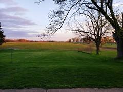 My back yard (LaLa83) Tags: mybackyard stoustville countryside field sky sunset dusk fairfleldcounty nature ohio beautifulohio