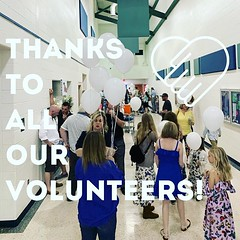 Huge thank you to all our amazing volunteers for making Easter weekend possible! High 5s to you all ✋💙 (rcokc) Tags: huge thank you all our amazing volunteers for making easter weekend possible high 5s ✋💙