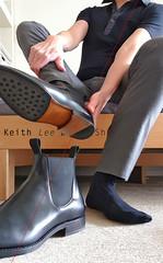 Merchant chelsea boots (Keith Lee dress shoes) Tags: chelseaboots boots chelsea blackleatherboots leatherboots blackchelseaboots blackleatherchelseaboots elasticsidesboots elasticsidedboots elasticsideboots elastic side sided sides mensboots mensleatherboots menschelseaboots menselasticsidedboots menselasticsideboots mensdressshoes shoes dressshoes removingboots undress undressingboots takeoffboots takeoffshoes removingshoes mensfashion menscasualwear menssemiformalwear