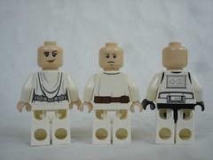 75229 - figs back (fdsm0376) Tags: lego set review 75229 death star escape wars leia princess organa luke skywalker stormtrooper mouse droid