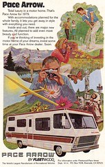 1979 Pace Arrow By Fleetwood Mobile Motor Home USA Original Magazine Advertisement (Darren Marlow) Tags: 1 7 9 19 79 1979 p pace a arrow f fleetwood m mobile h home motor c car cool collectible collectors classic automobile v vehicle u s us usa united states american america 70s
