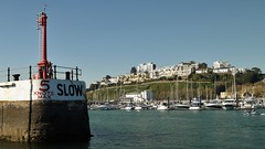 Entering the Harbour... (Drive-By Photography) Tags: torquay harbour devon yachts boats breakwater