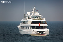 New Hampshire - 62m - Feadship (Raphaël Belly Photography) Tags: rb raphaël monaco raphael belly photographie photography yacht boat bateau superyacht my yachts ship ships vessel vessels sea motor mer m meters meter new hampshire feadship 62m 62 white blanc bianco imo 1008554 mmsi 235117808