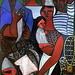 IMG_1080 André Fougeron. 1913-1998.  Composition Bretagne 1946  Quimper. Musée des Beaux Arts. (dépôt du Musée  Beaubourg Paris)