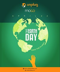 World Earth Day 2019 (UnPlug Online) Tags: earth day save planet go green think of future its now or never