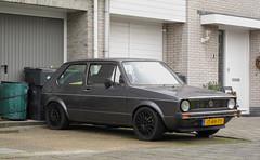 1983 Volkswagen Golf 1.5 CL (rvandermaar) Tags: 1983 volkswagengolf 15 cl volkswagen golf volkswagengolfi vwgolfi vw vwgolf sidecode4 jt49py
