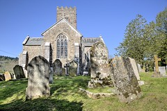 Easter Church 21/30 (rmrayner) Tags: stnectanschurchinashcombe ashcombe parishchurch graveyard bluesky aprilamonthin30pictures 2130 easterday eastersunday