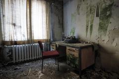 Writer's block (Mike Foo) Tags: urbex abandoned abbandono rozklad opuštěný opuszczony decay fuji fujifilm xt2 forgotten forbidden haunting eerie spooky hdr
